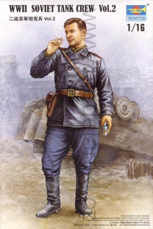 WWII Soviet Tank Crew Vol.2