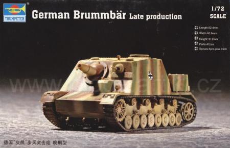 German Brummbär Late production