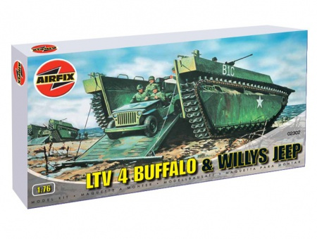 Buffalo Amphibian and Jeep