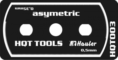 Stainless razor saw asymetric fine 039/HQT003