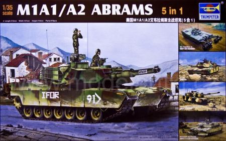 M1A1/A2 Abrams (5 in 1)