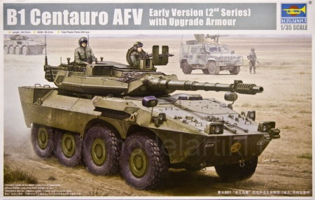 B1 Centauro AFV early version (2st version) with Armour