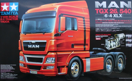 RC Man TGX 26.540 6x4 XLX 001/56325