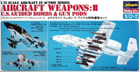 Aircraft Weapons: II (U.S. Guided Bombs & Gun Pods) 007/X72-2