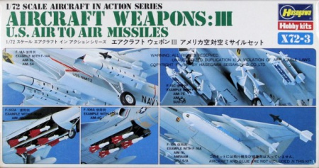 Aircraft Weapons: III (U.S. Air To Air Missiles) 007/X72-3