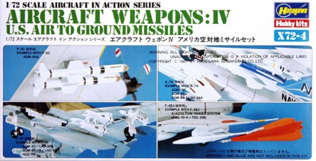 Aircraft Weapons: IV (U.S. Air To Ground Missiles) 007/X72-4