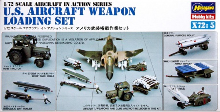 U.S. Aircraft Weapon Loading Set 007/X72-5