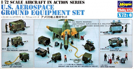 U.S. Aerospace Ground Equipment Set 007/X72-6