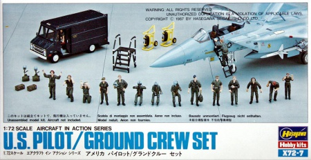 U.S. Pilot/Ground Crew Set 007/X72-7