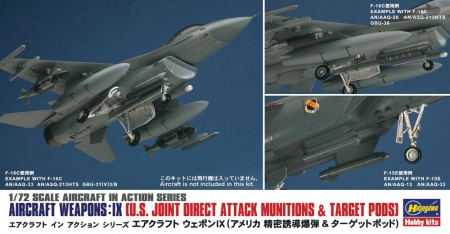 Aircraft Weapons: IX (U.S. Joint Direct Attack Munitions & Target Pods) 007/X72-14