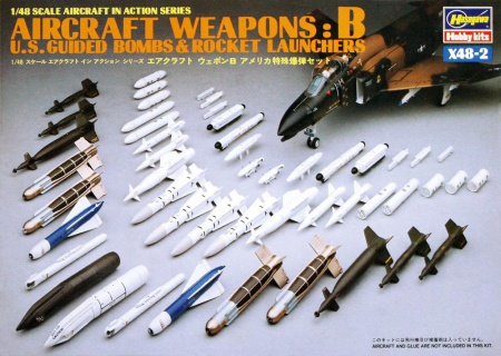 Aircraft Weapons: B (U.S. Guided Bombs & Rocket Launchers) 007/X48-2
