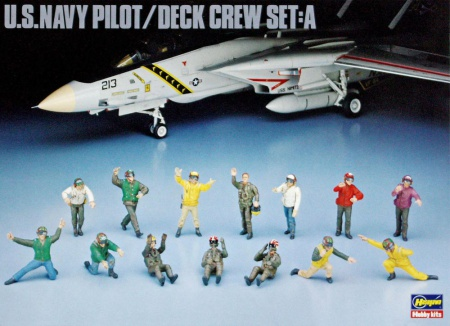 U.S.Navy Pilot/Deck Crew Set: A