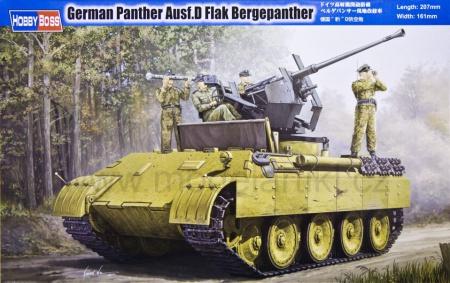Panther Ausf.D Flak Bergepanther