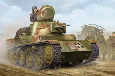 Hungarian Light Tank 38M Toldi I(B40)