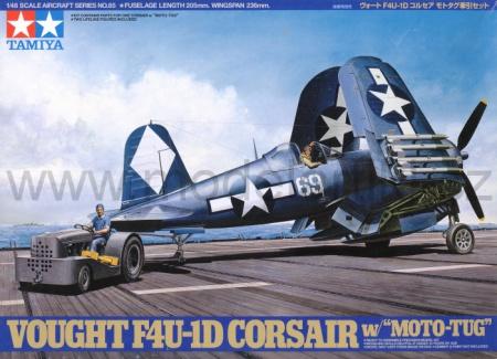 F4U-1D Corsair + Moto-Tug