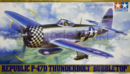 Republic P-47D Thunderbolt Bubbletop