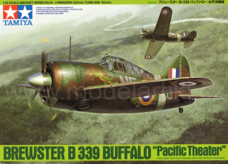 Brewster B-339 Buffalo Pacific Theater 001/61094