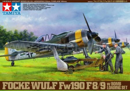 Focke-Wulf Fw 190F-8/9 + Bomb Loading Set