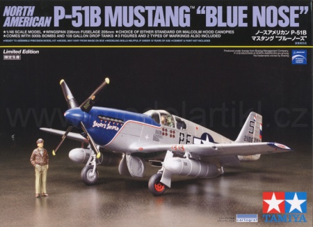 North American P-51B Mustang Blue Nose (Limited Edition) 001/92216