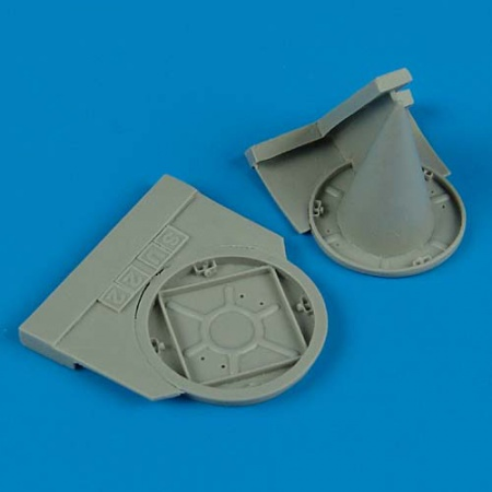 Su 22M-4 - Exhaust & Air Intake Covers (1:48 SMĚR, KP-models, Kopro, OEZ)