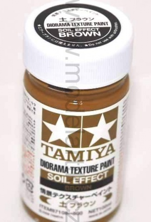 Diorama Texture Paint Soil Effect: Brown 100ml 001/87108