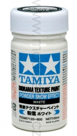 Diorama Texture Paint Powder Snow Effect 100ml 001/87120