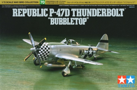 Republic P-47D Thunderbolt Bubbletop 001/60770