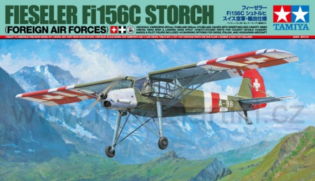 Fieseler Fi 156C Storch (Foreign Air Forces) Limited Edition 001/25158