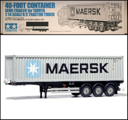 RC 40ft Container Semi-Trailer 001/56326