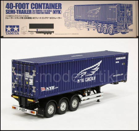 RC 40ft Container Semi-Trailer (NYK) 001/56330