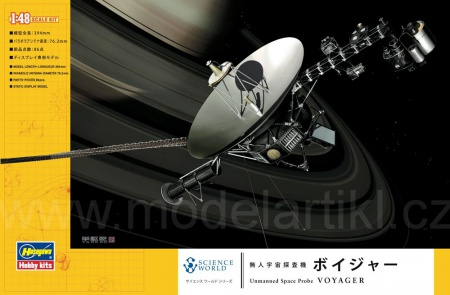Unmanned Space Probe Voyager 007/SW02