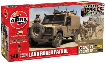 British Forces - Land Rover Patrol 006/50121