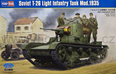 Soviet T-26 Light Infantry Tank Model 1935 008/82496