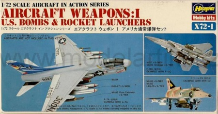 Aircraft Weapons: I (U.S. Bombs & Rocket Launchers) 007/X72-1