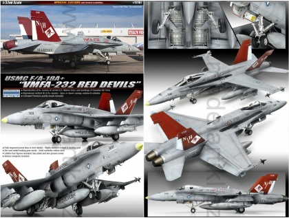 F/A-18A+ VMFA-232 Red Devils (Limited Editions)