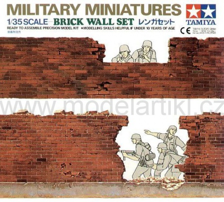 Brick Wall Set 001/35028