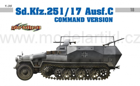 Sd.Kfz.251/17 Ausf.C Command Version 023/6413