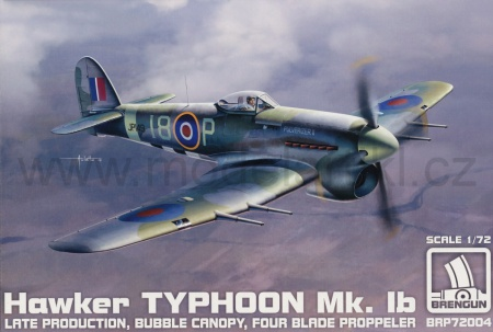 Hawker Typhoon Mk.Ib Late Production 055/BRP72004