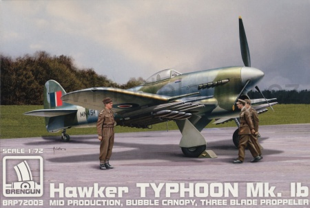 Hawker Typhoon Mk.Ib Mid Production 055/BRP72003