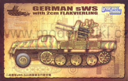 German sWS with 2cm Flakvierking 063/L3525