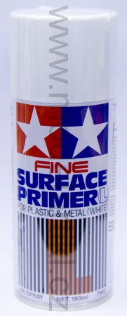 Fine Surface Primer (White), spray 180ml 001/87044