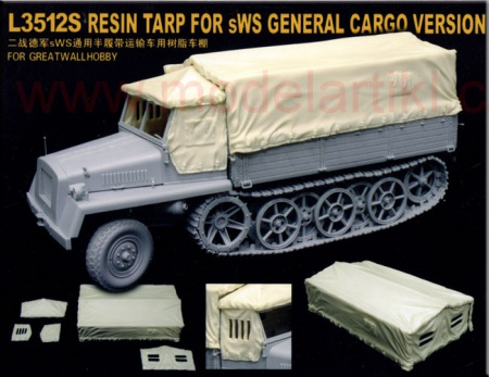 Resin Tarp for sWS General cargo version 063/L3512S
