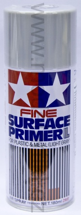 Fine Surface Primer (Light Gray), spray 180ml 001/87064