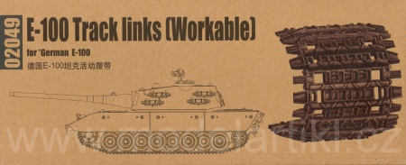 Track Links (Workable) for WWII German E-100 005/02049