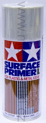 Surface Primer (Light Gray), spray 180ml 001/87042