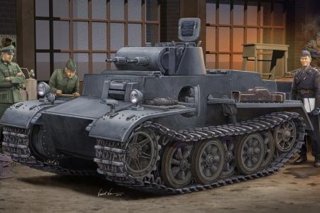 Pz.Kpfw.I Ausf.F (VK18.01) Early