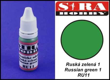 RU11 Ruská zelená 1 (Russian green 1) 12ml 041/RU11