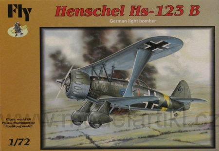 Henschel Hs-123 B (German light bomber) 040/72010