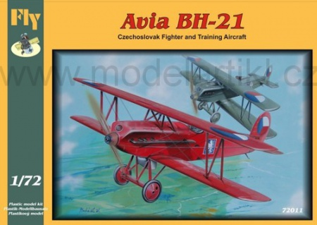 Avia BH-21 (Czechoslovak Fighter and Training Aircraft) 040/72011