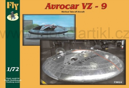 Avrocar VZ-9 (Wertical Take-off Aircraft) 040/72014